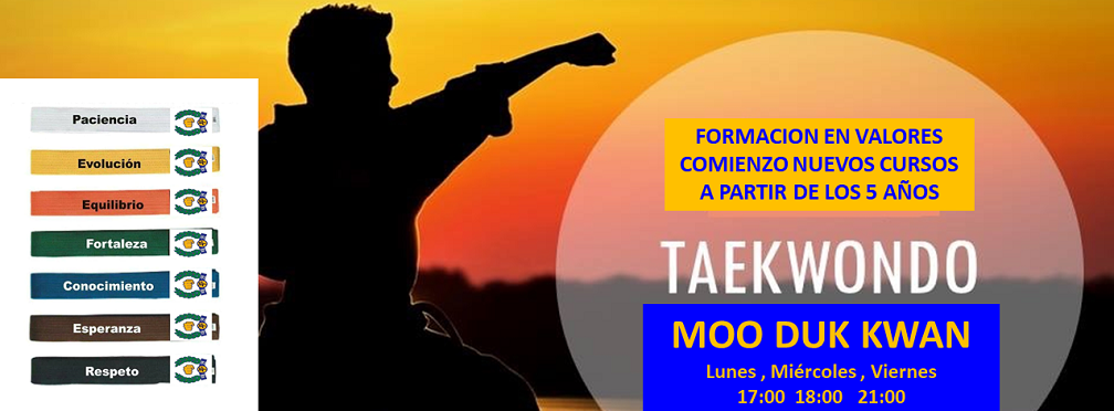 TAE KWON DO Forma en Valores